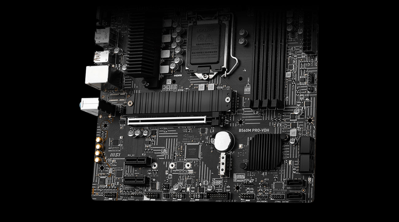 MSI B560M PRO-VDH - Audio