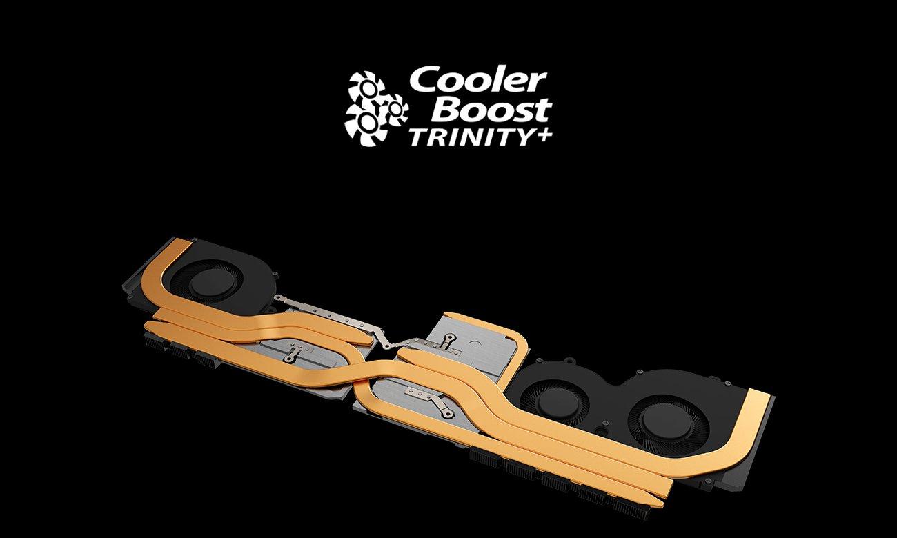 Chłodzenie Cooler Boost TRINITY+