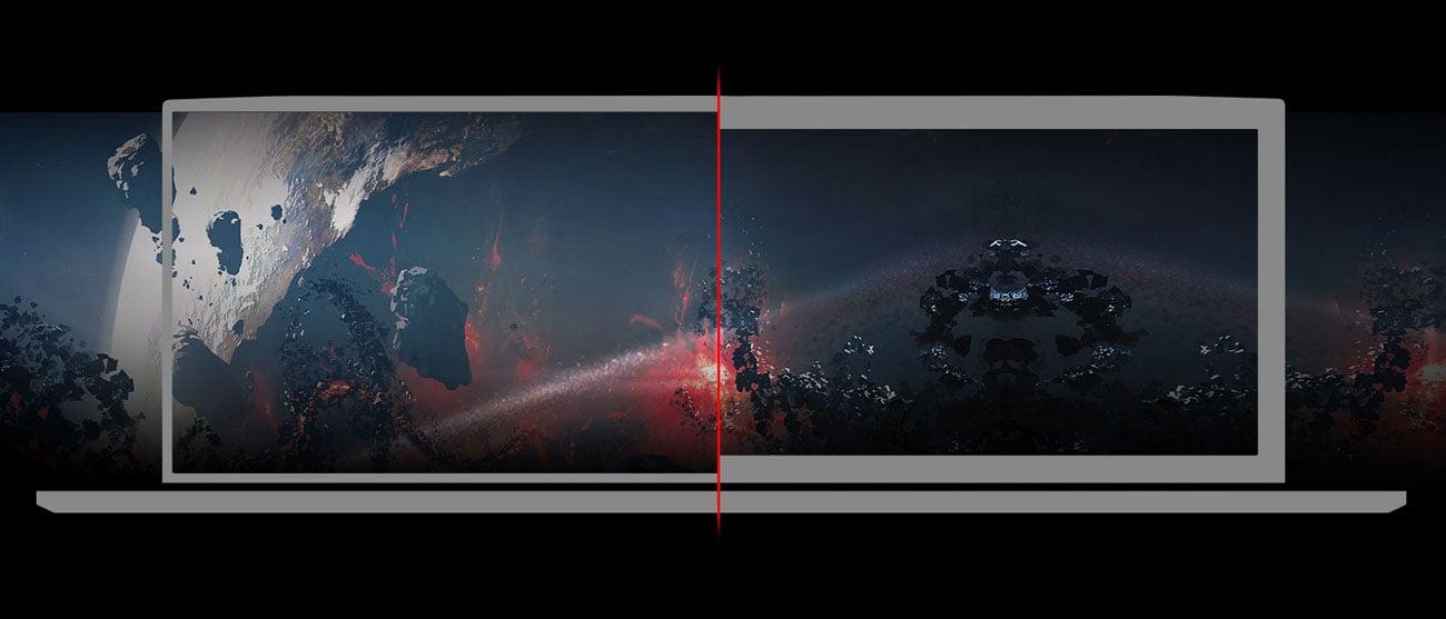 17-дюймовий екран