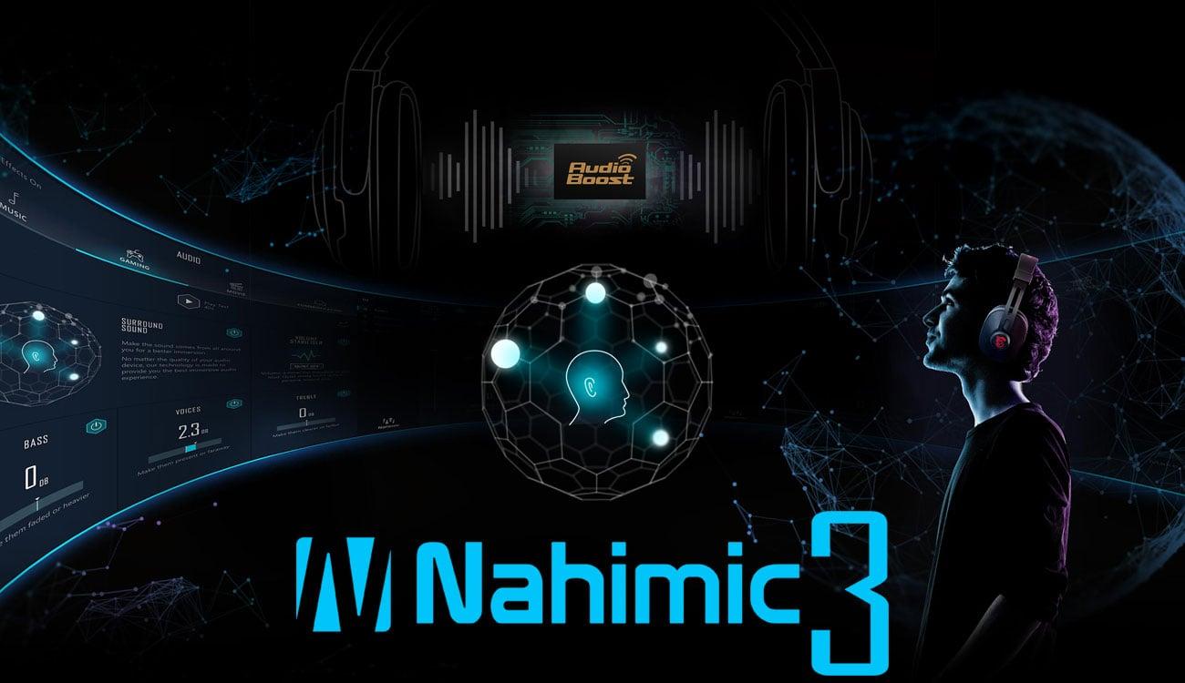 MSI GF63 8RC Zanurz się w dźwięku 3D