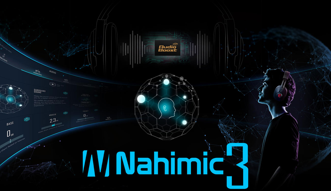 MSI GF63 8RD Zanurz się w dźwięku 3D