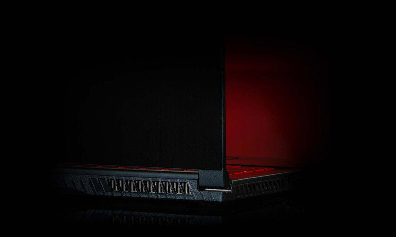 Laptop dla graczy MSI GF63 THIN Chlodzenie