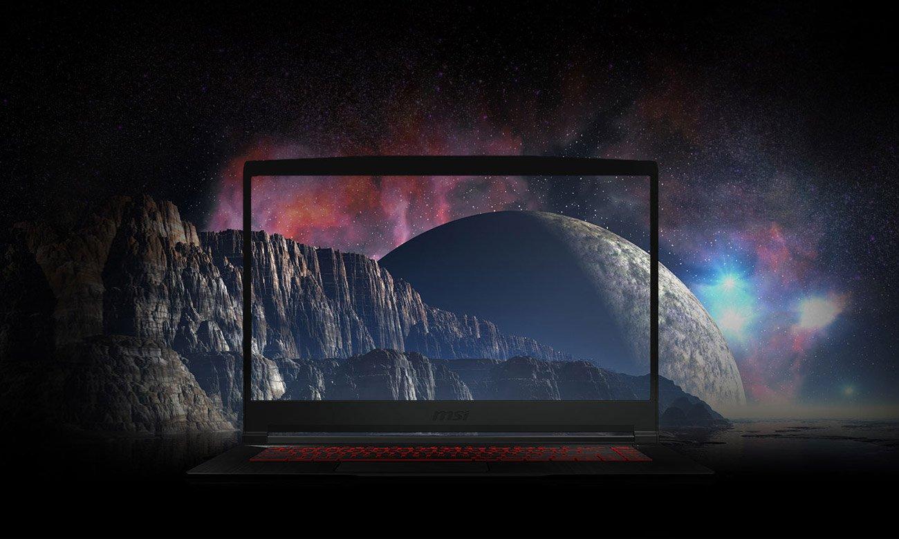 Laptop dla graczy MSI GF63 THIN Cienkie Ramki