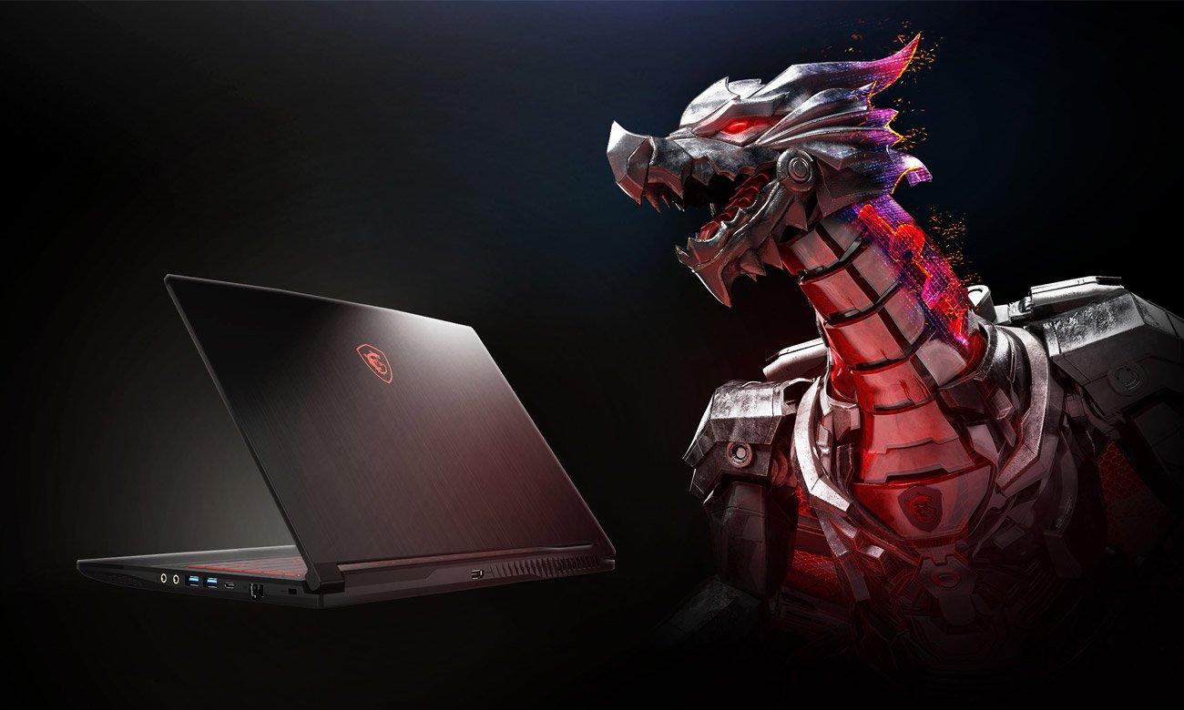 Laptop dla graczy MSI GF63 THIN