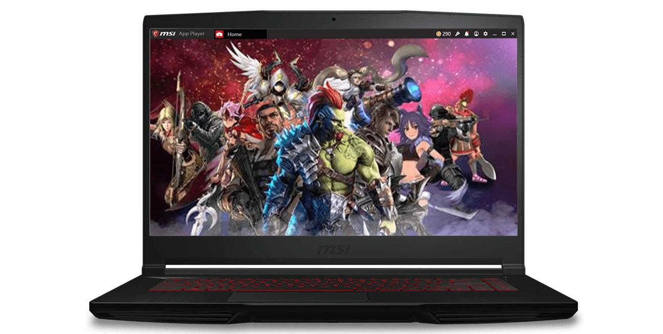 Игровой ноутбук MSI Thin GF63