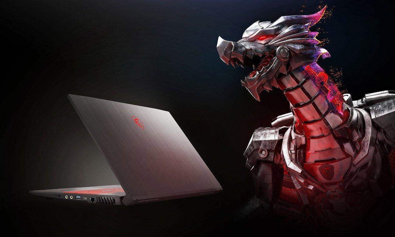 Ноутбук gamingowy MSI GF75