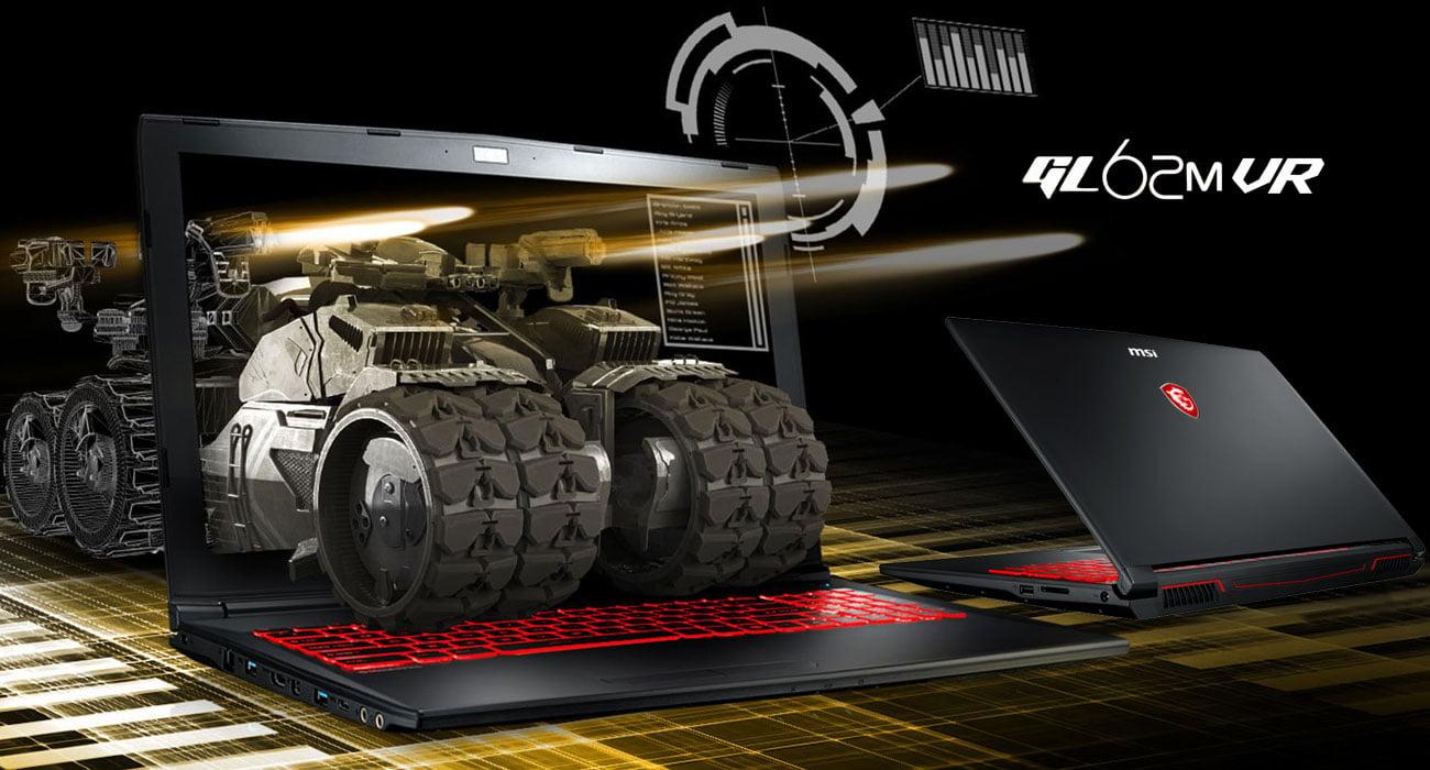 MSI GL62MVR 7RFX Nadzwyczajna maszyna gamingowa
