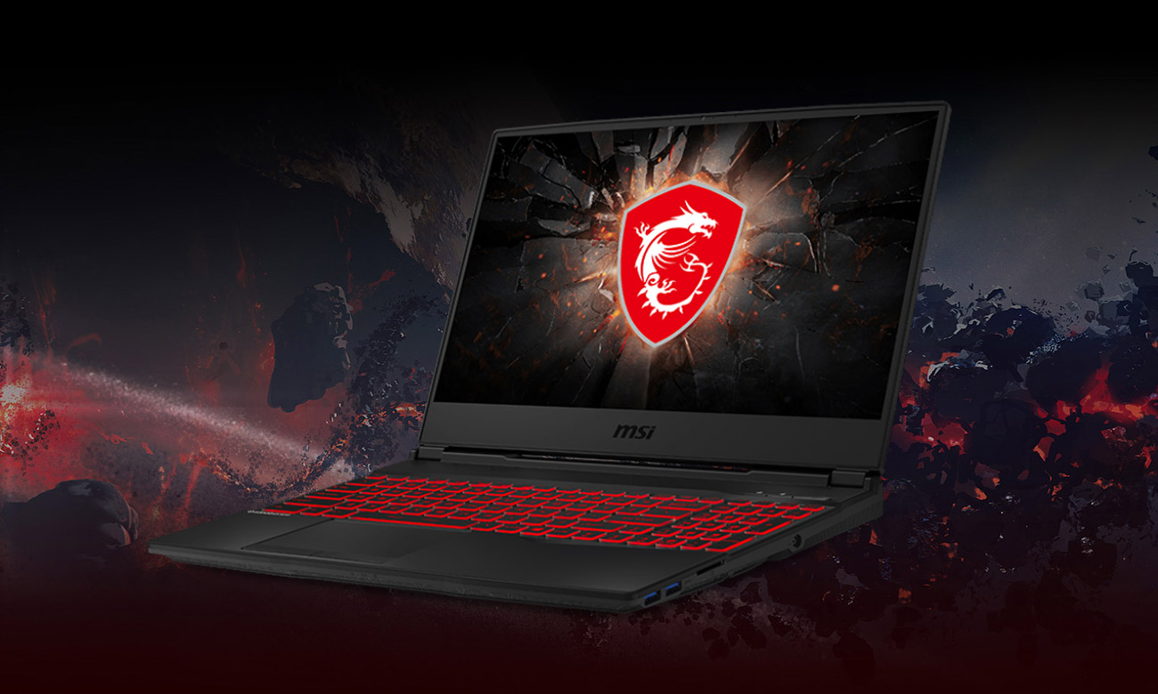 Laptop Gamingowy MSI GL65