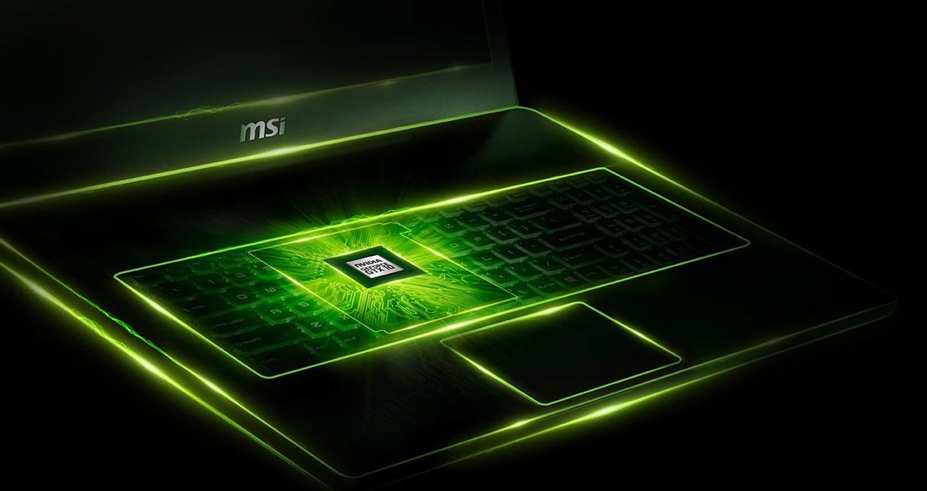 MSI GP73 Leopard karta graficzna GeForce GTX 1050 Ti