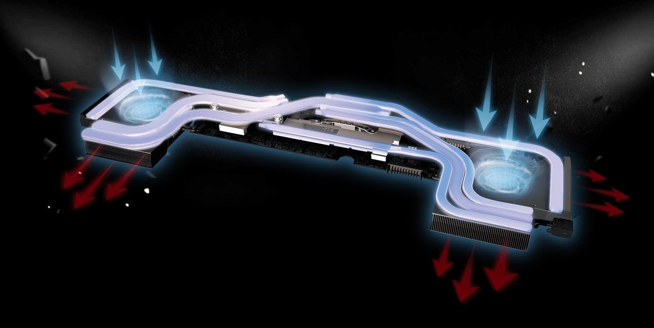 MSI GP73 Leopard Chłodzenie Cooler Boost 5