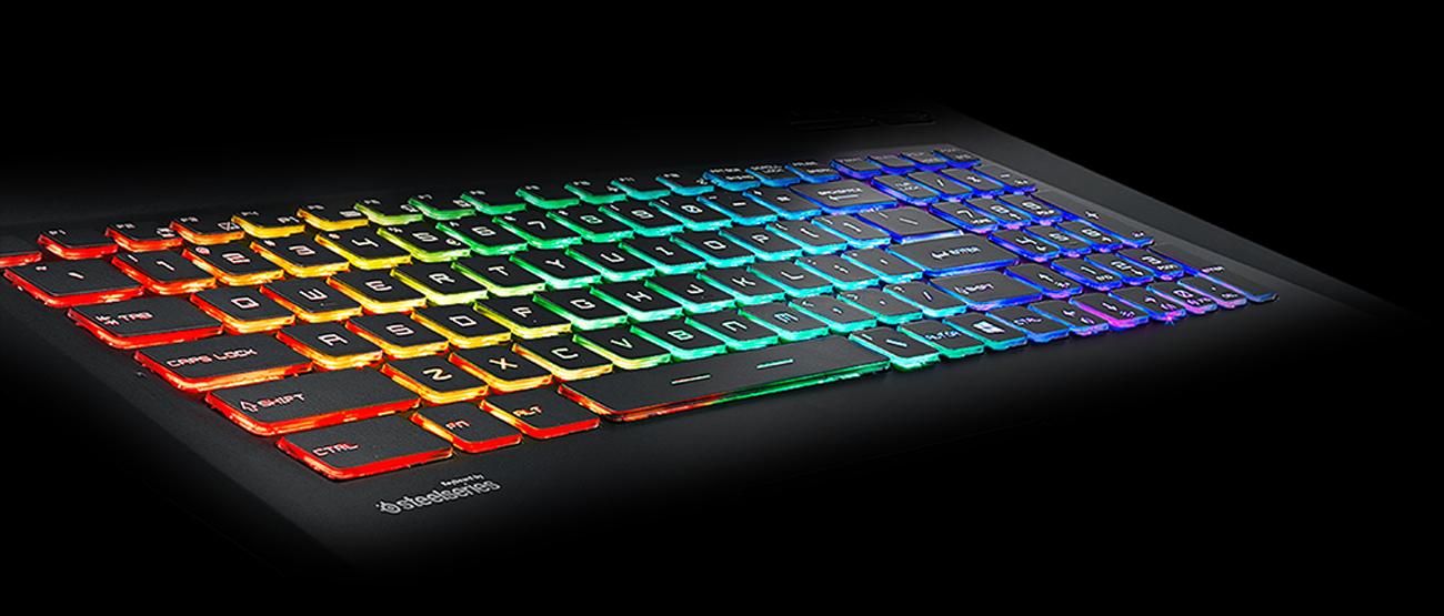 MSI GP73 Leopard Gamingowe, wielokolorowe podświetlenie klawiatury