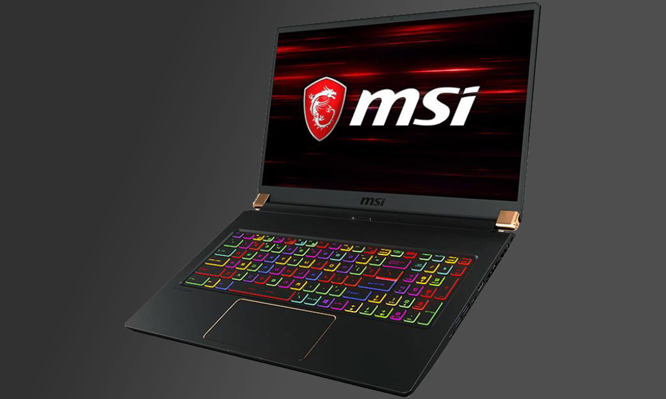 MSI	GS75 GeForce GTX 1660Ti– Twój gamingowy oręż