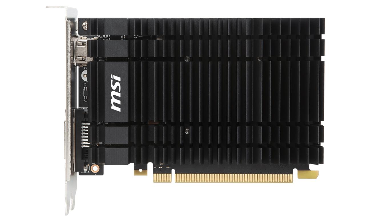 MSI GeForce GT 1030 LP OC 2GH technologie gamingowe