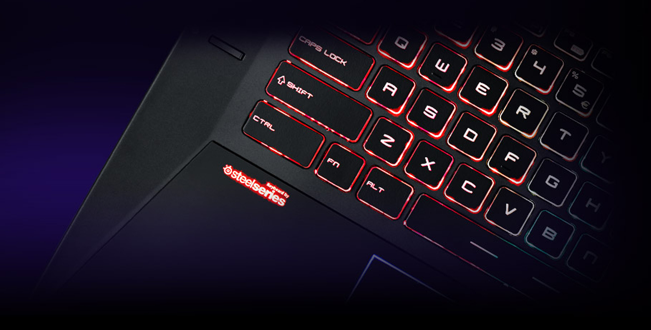 Laptop Gamingowy MSI GT73EVR klawiatura Technologia anty-ghosting