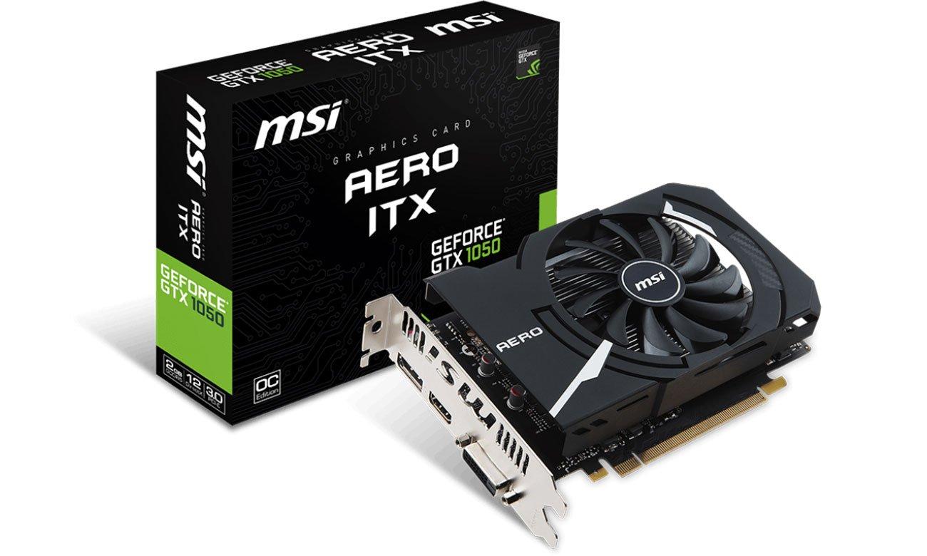 GeForce GTX 1050 AERO ITX OC V1