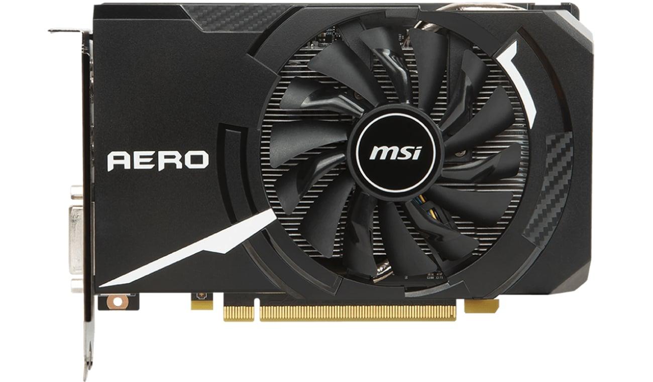 MSI GeForce GTX 1060 Aero ITX Niewielkie rozmiary, wielkie uderzenie