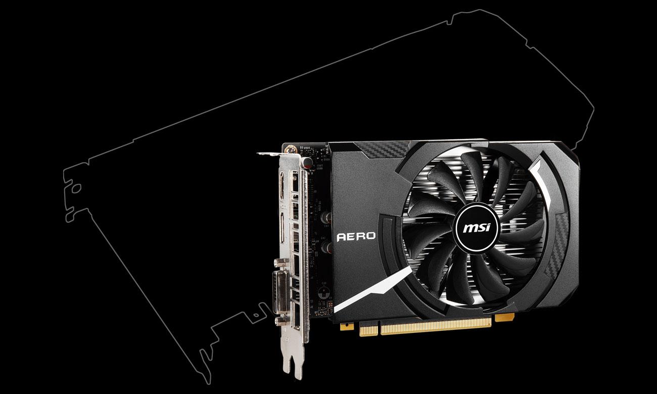 MSI GeForce GTX 1650 D6 AERO ITX OC 4 GB