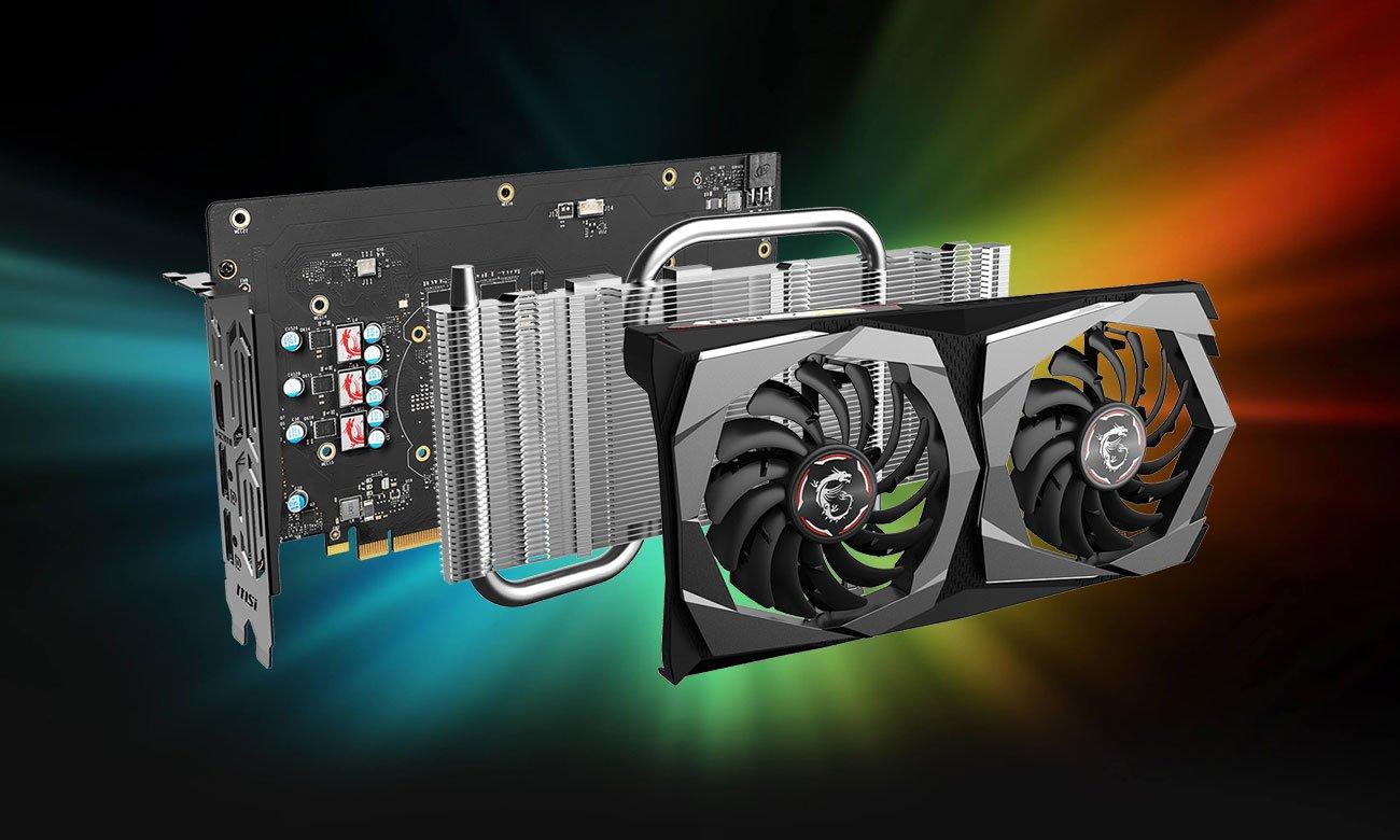 MSI GeForce GTX 1650 GAMING - Chłodzenie