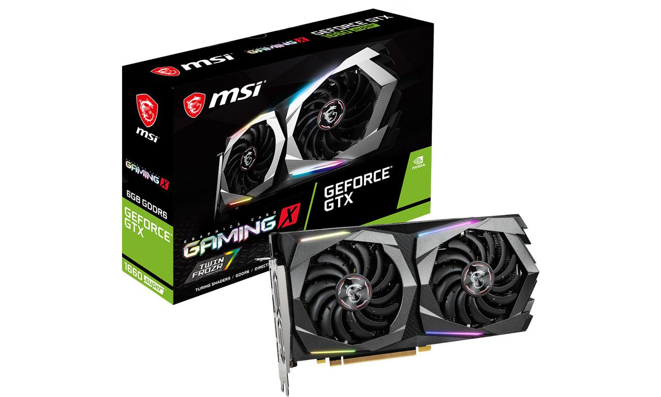 MSI GeForce GTX 1660 SUPER GAMING X 6GB GDDR5