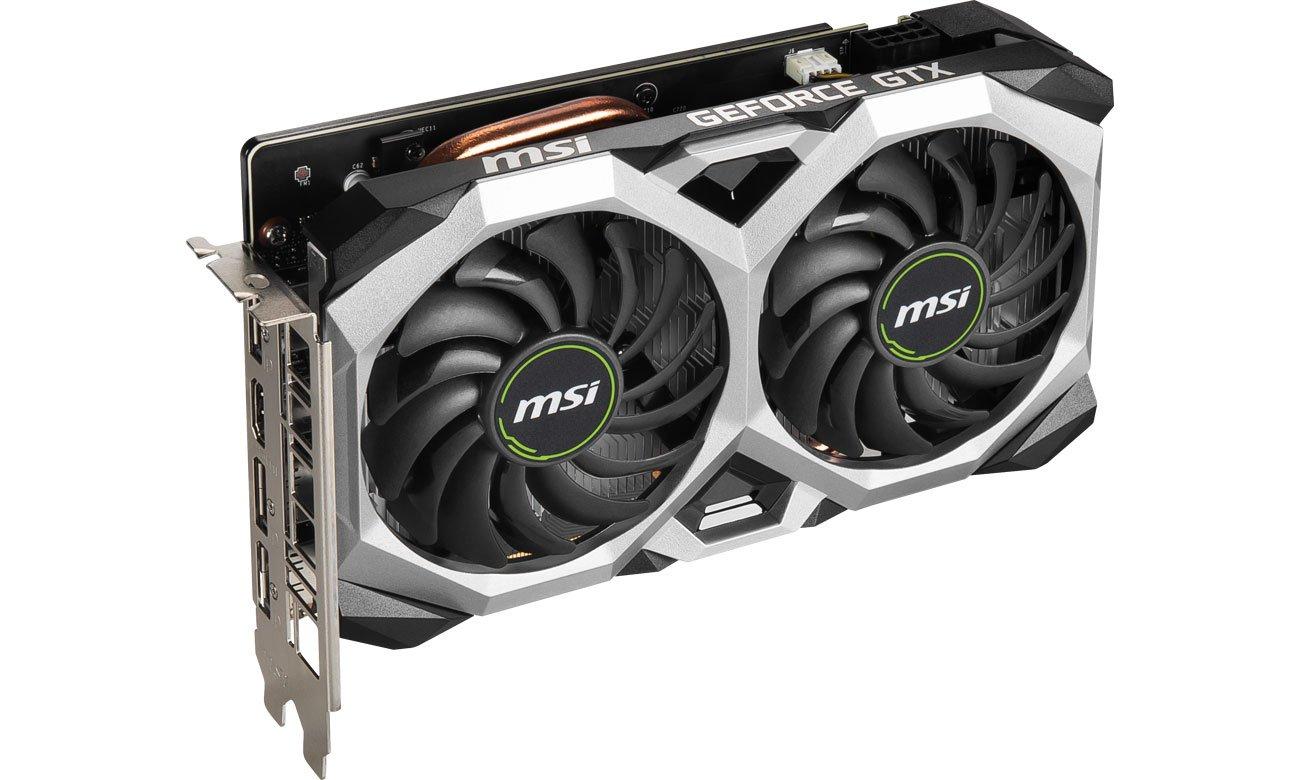 MSI GeForce GTX 1660 SUPER VENTUS XS OC - Chłodzenie