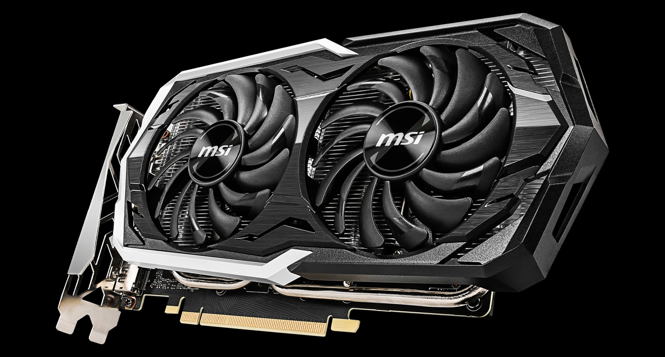 Охлаждение MSI GeForce GTX 1660 Ti Armor OC