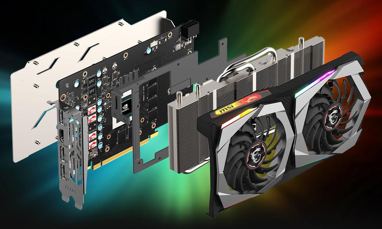 MSI GeForce GTX 1660 Ti GAMING 6G - Chłodzenie