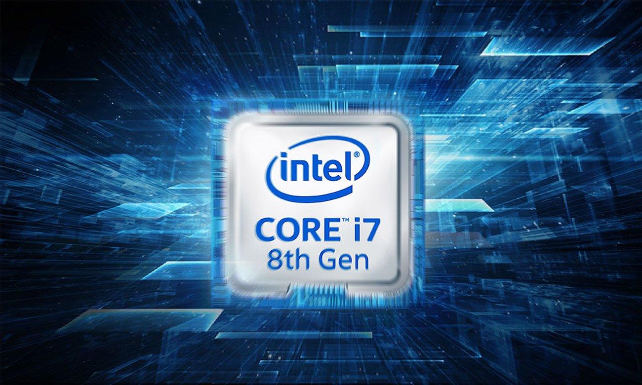 MSI GV72 8RE Procesor Intel Core i7 8-ej generacji
