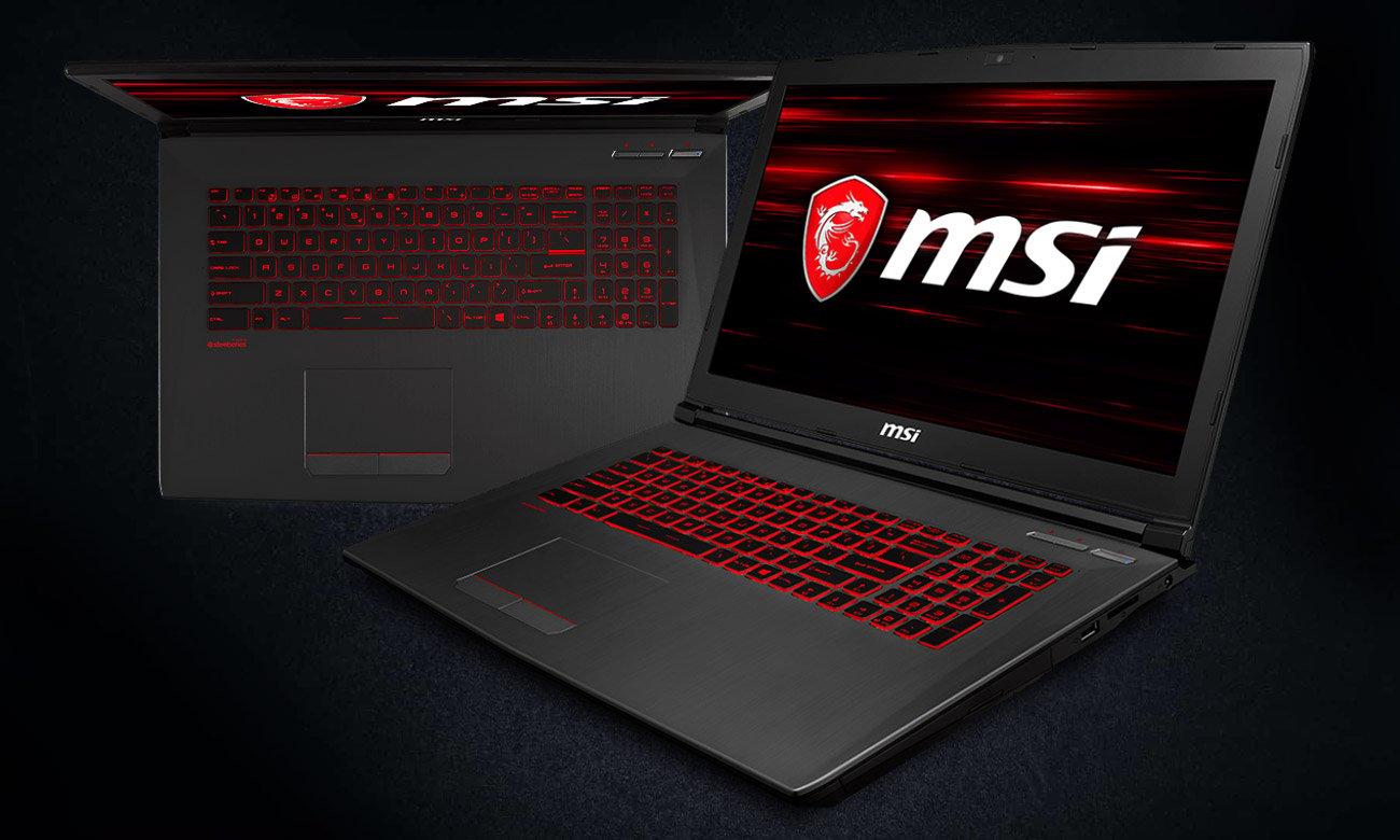 MSI GV72 8RD Stylowy laptop dla entuzjastów gamingu