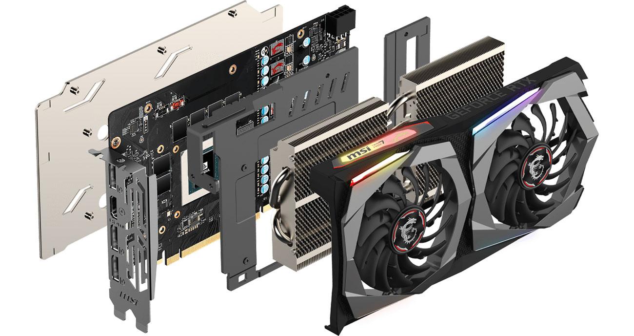 MSI GeForce RTX 2060 GAMING Chłodzenie