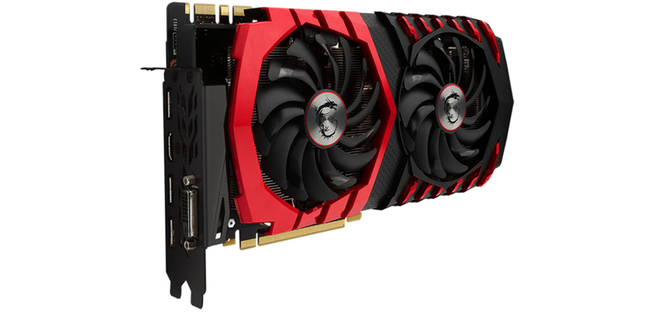 MSI GeForce GTX 1070 GAMING X 8GB GDDR5