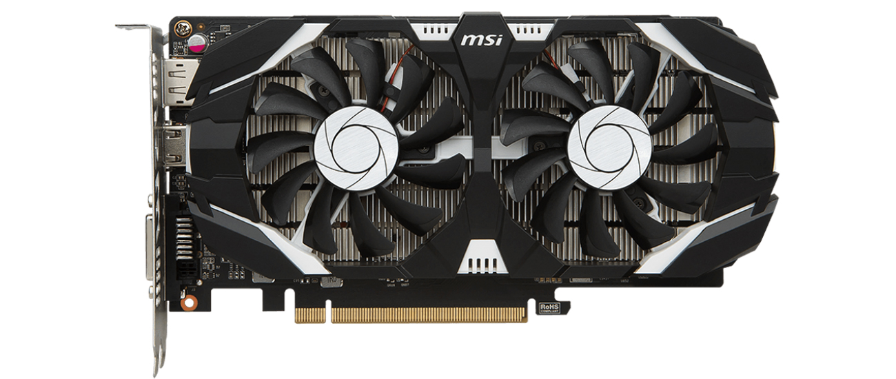 Msi Geforce Gtx 1050 Ti 4gt Oc 4gb Gddr5 Karty Graficzne Nvidia