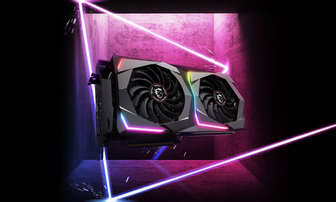 Die Grafikkarte mit der Ray Tracing Technologie MSI GeForce RTX 2060 GAMING Z 6GB GDDR6