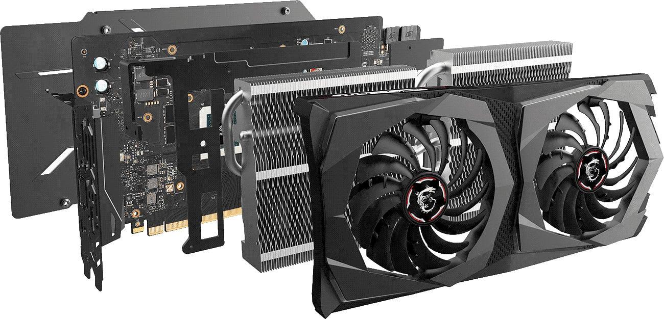 MSI GeForce RTX 2070 GAMING X Chłodzenie