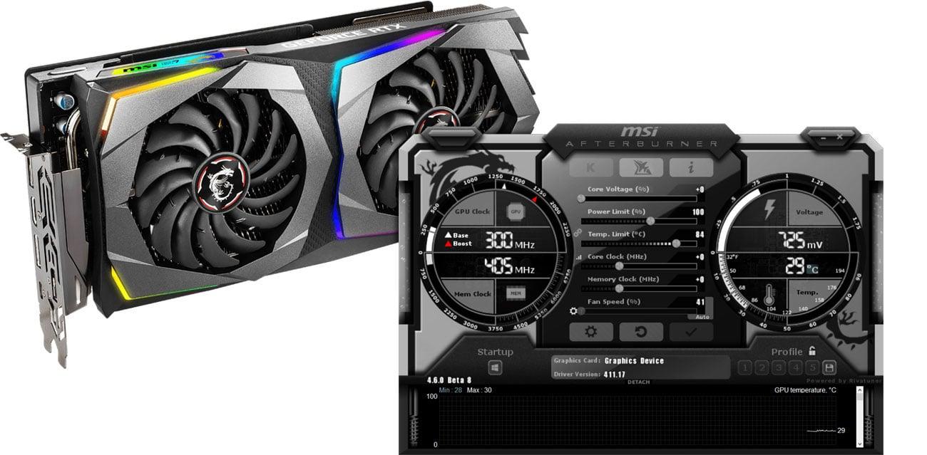 MSI GeForce RTX 2070 GAMING Mystic Light Afterburner
