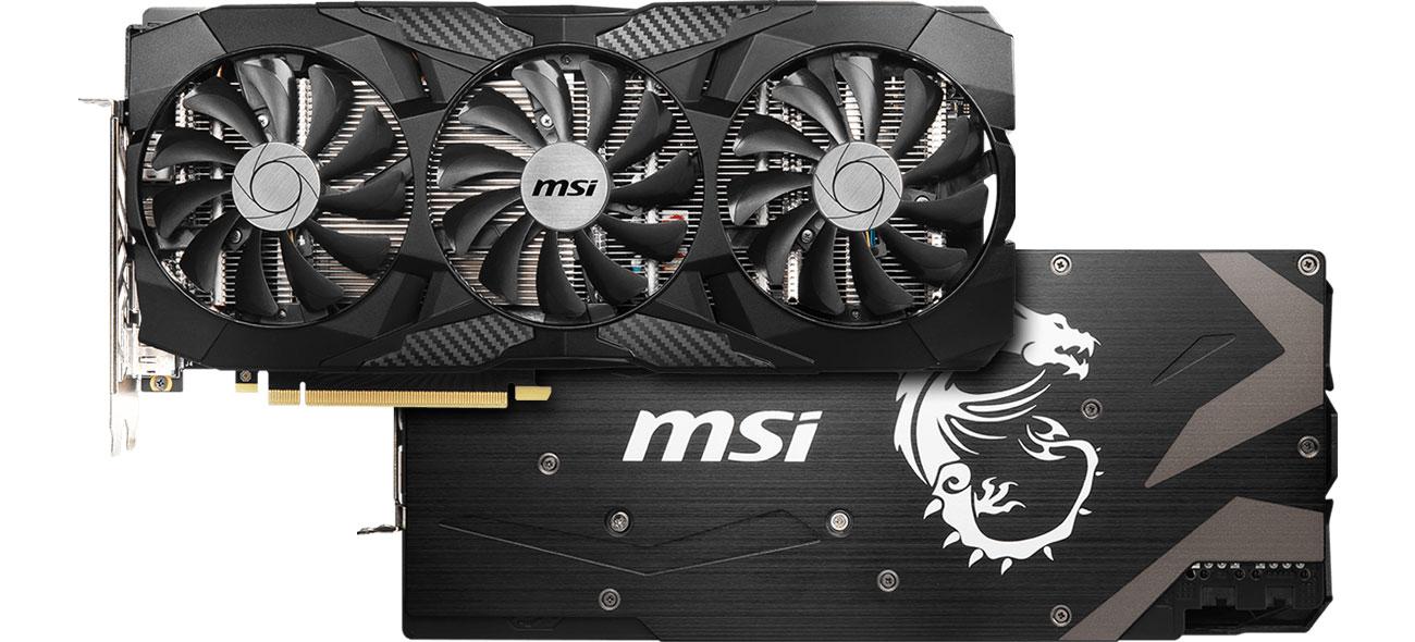MSI GeForce RTX 2070 TRI FROZR - Chłodzenie