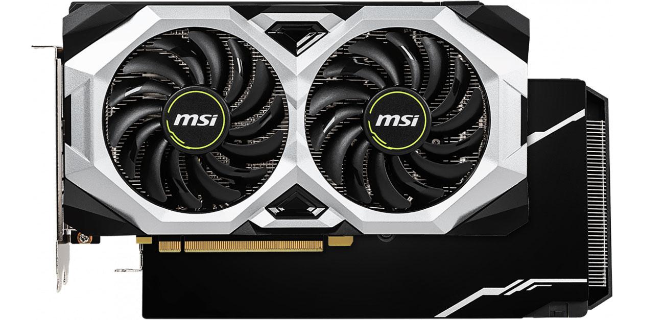 MSI GeForce RTX 2070 VENTUS Chłodzenie