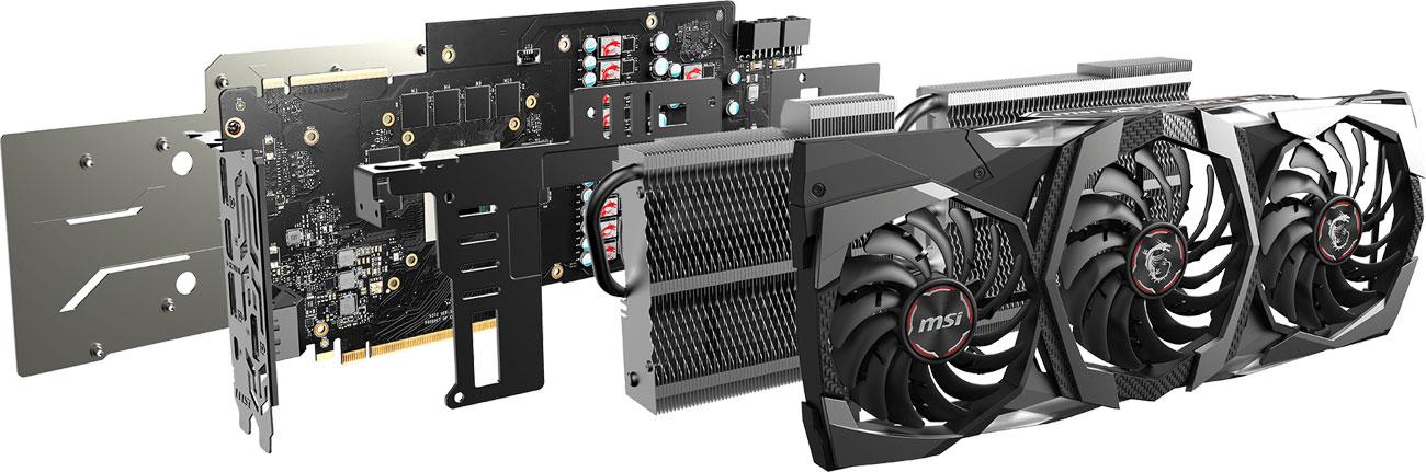 MSI GeForce RTX 2080 GAMING TRIO - Chłodzenie