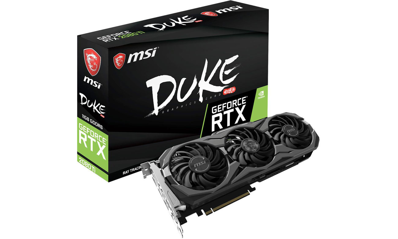 MSI GeForce RTX 2080 Ti DUKE 11 GB