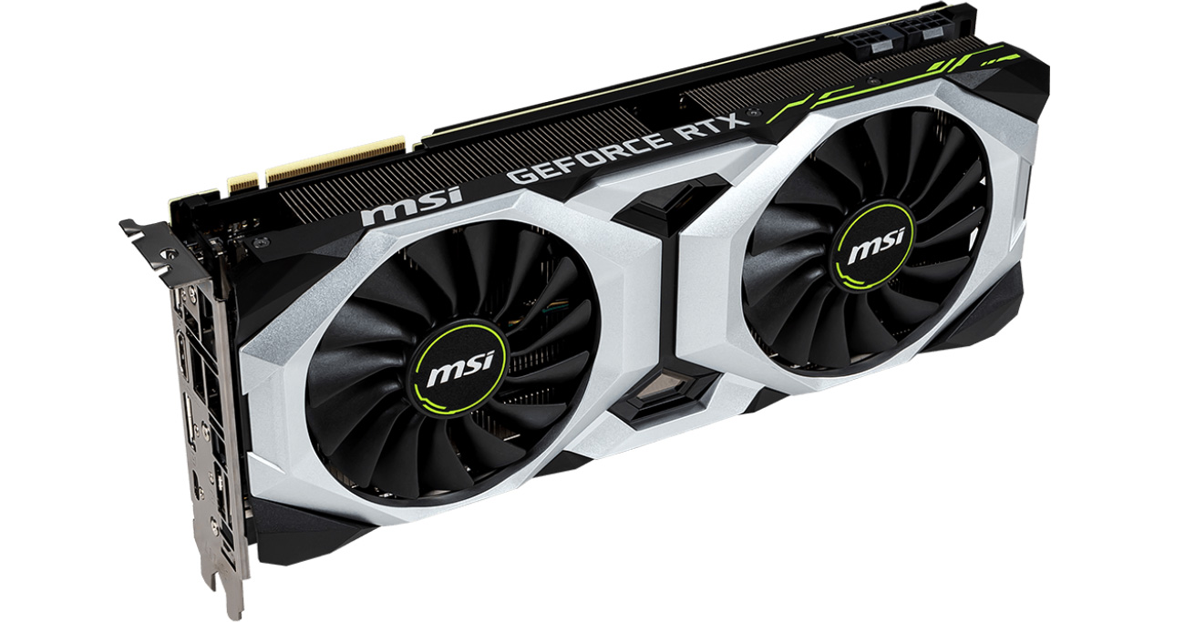 GeForce RTX 2080 VENTUS ray tracing