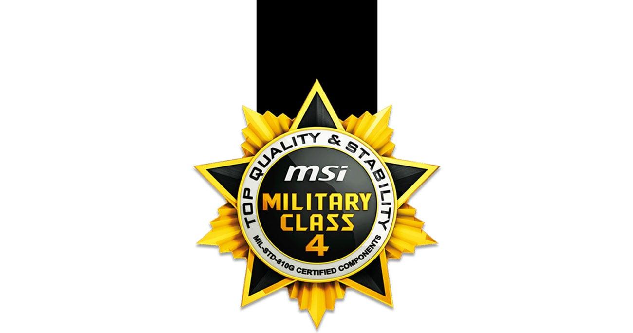 Komponenty 4. klasy militarnej (Military Class 4)