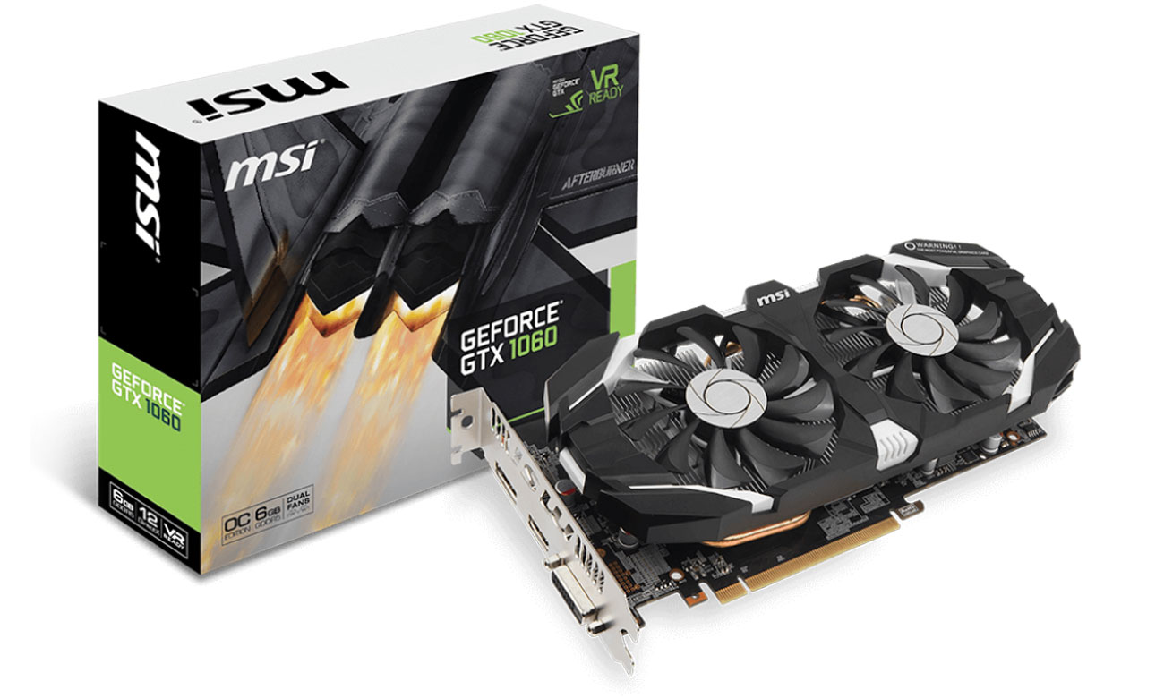 Grafická karta GeForce GTX 1060 6GT OC