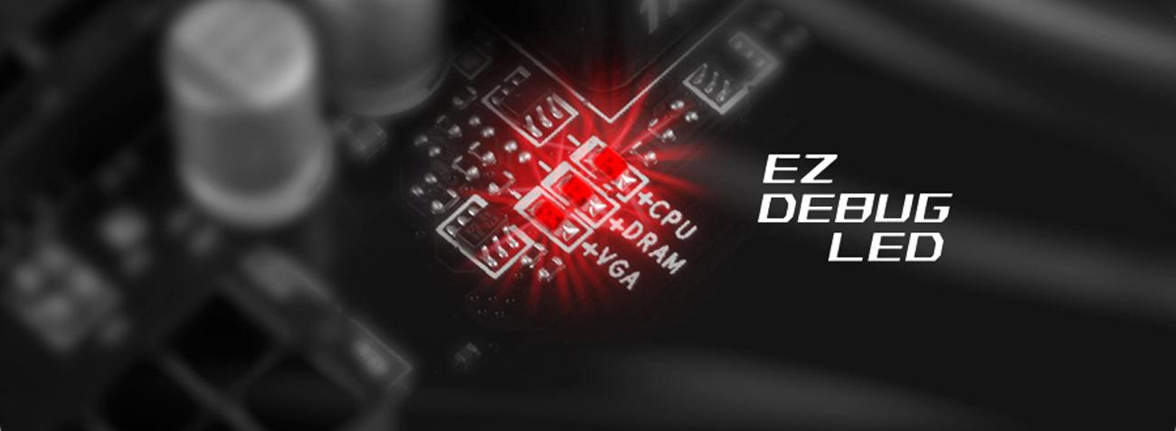 MSI H170A PC MATE LED MSI EZ Debug