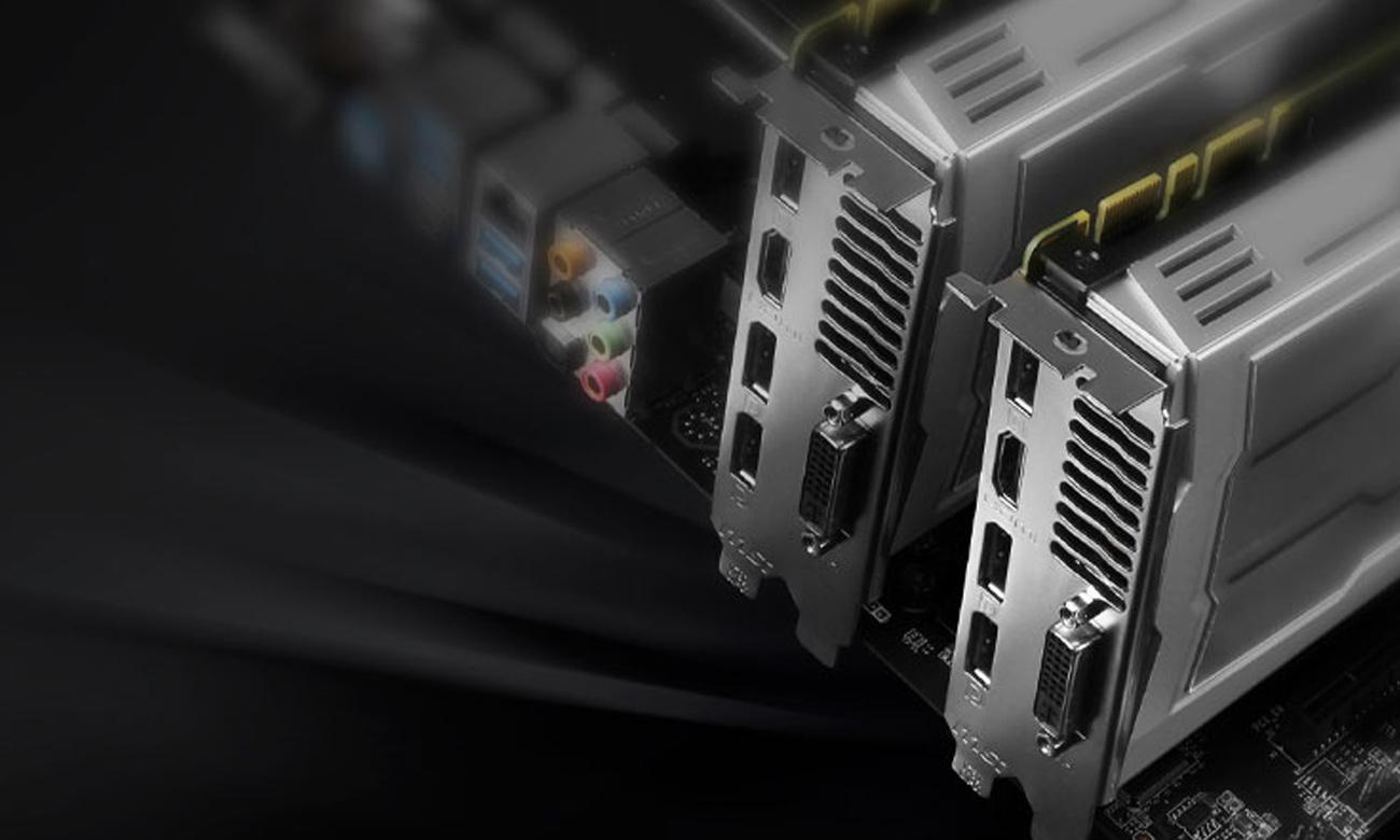 Technologia CrossFire MSI H170A PC MATE
