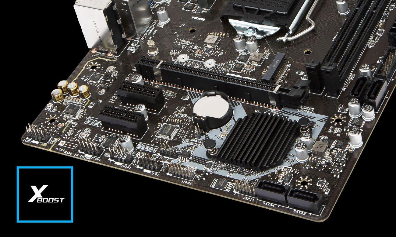 MSI H310M PRO-M2 złącze M.2 PCIe 2.0 x4