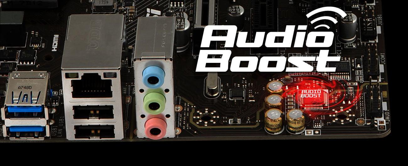 MSI H310M PRO-VD PLUS Audio Boost