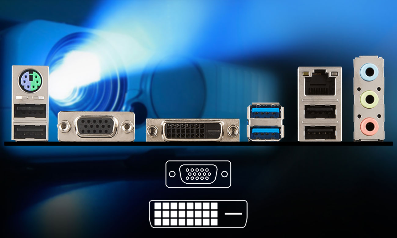 MSI H310M PRO-VD Wyjście DVI-D, VGA
