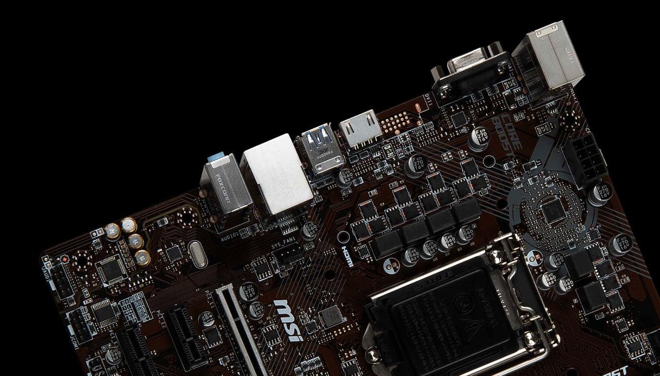 MSI H310M PRO-VH PLUS Wytrzymałość