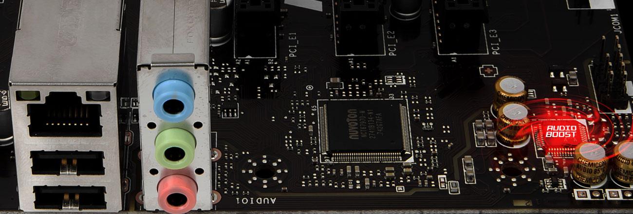 MSI H310M PRO-VL System Audio Boost Profesjonalna jakość dźwięku