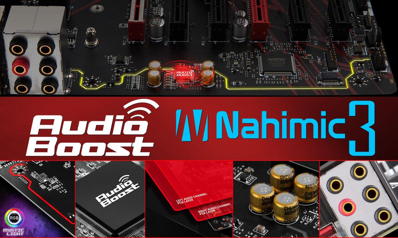 MSI H370 Gaming Plus MSI Audio Boost