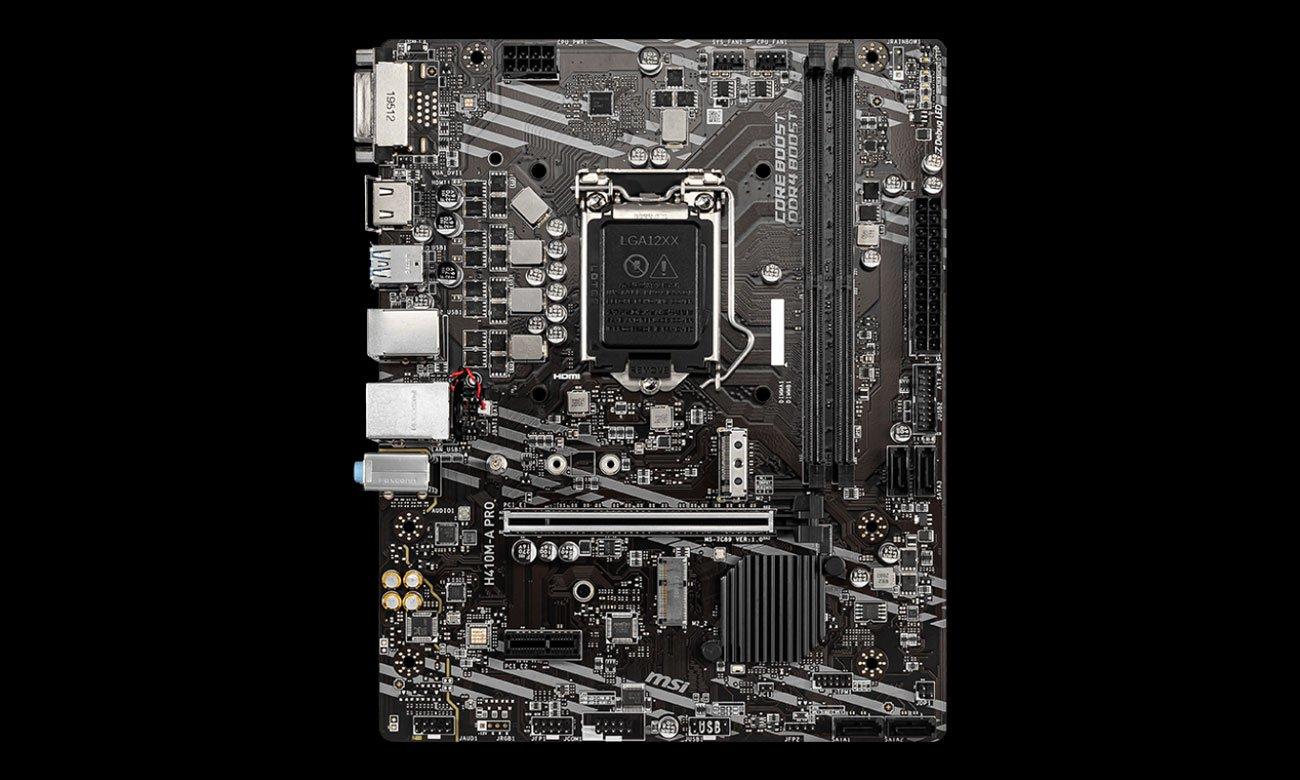 MSI H410M-A PRO
